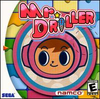 Caratula de Mr. Driller para Dreamcast