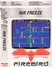Caratula de Mr. Freeze para Spectrum