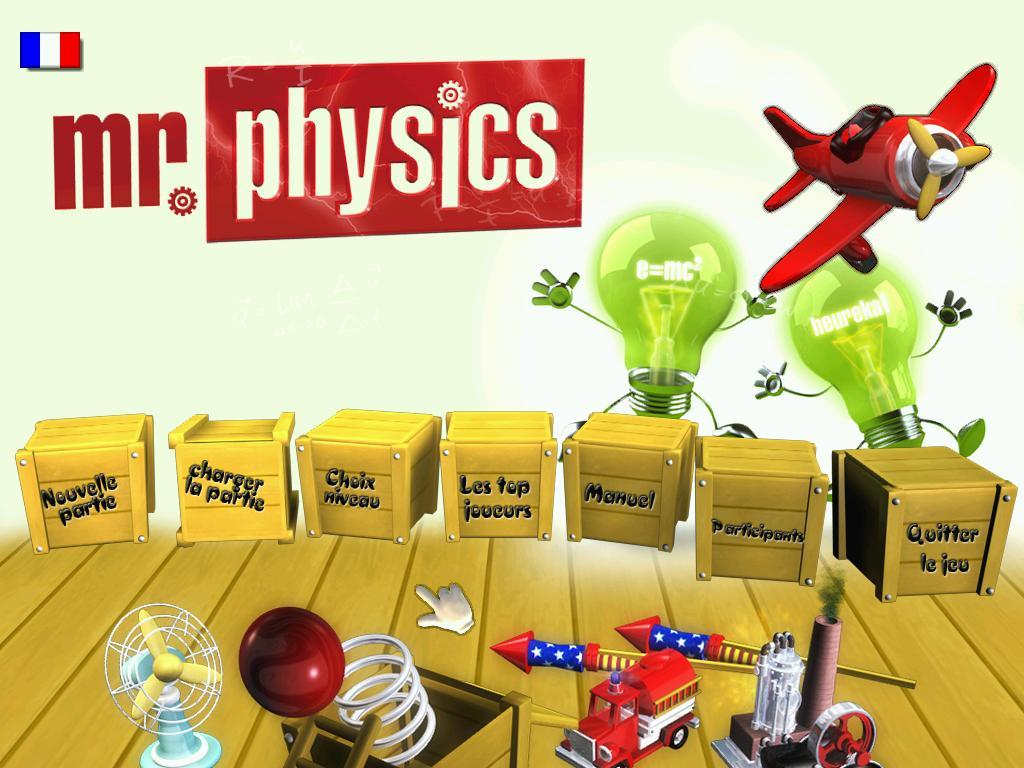 Pantallazo de Mr. Physics para PC