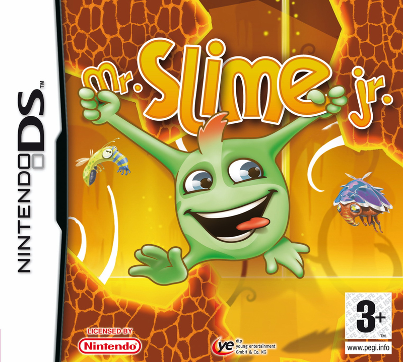 Caratula de Mr. Slime Jr. para Nintendo DS