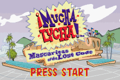 Pantallazo de Mucha Lucha! Mascaritas of the Lost Code para Game Boy Advance