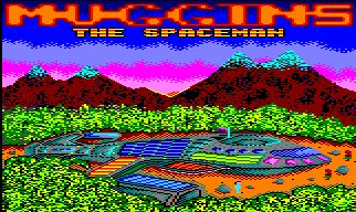 Pantallazo de Muggins The Spaceman para Amstrad CPC