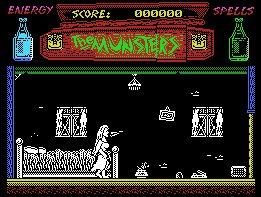 Pantallazo de Munsters, The para MSX