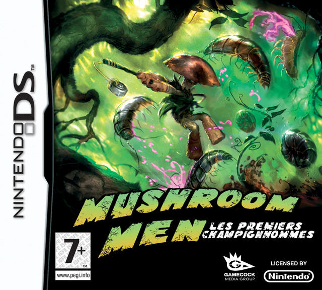 Caratula de Mushroom Men Rise of the Fungi para Nintendo DS