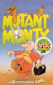 Caratula de Mutant Monty para Commodore 64