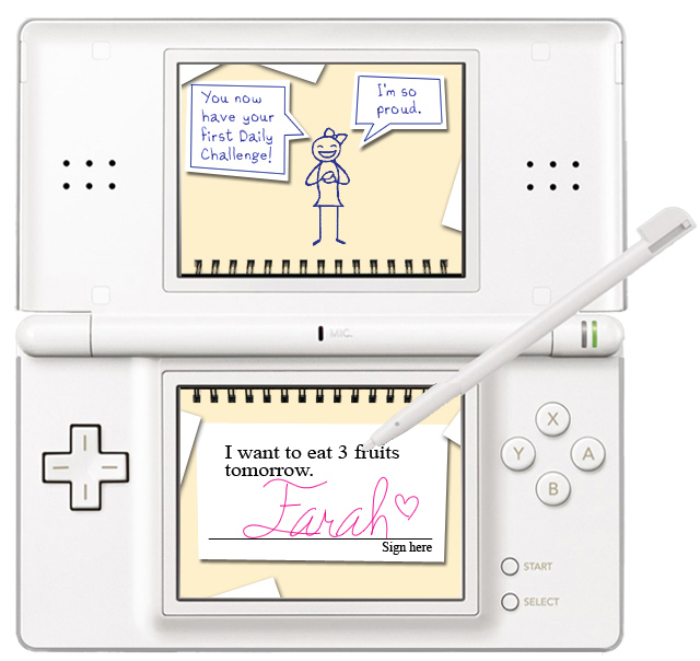 Pantallazo de My Weight Loss Coach para Nintendo DS