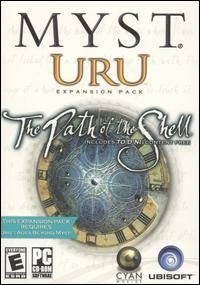 Caratula de Myst Uru Expansion Pack: The Path of the Shell para PC