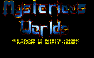 Pantallazo de Mysterious Worlds para PC