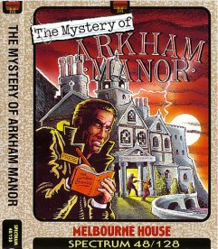 Caratula de Mystery of Arkham Manor para Spectrum