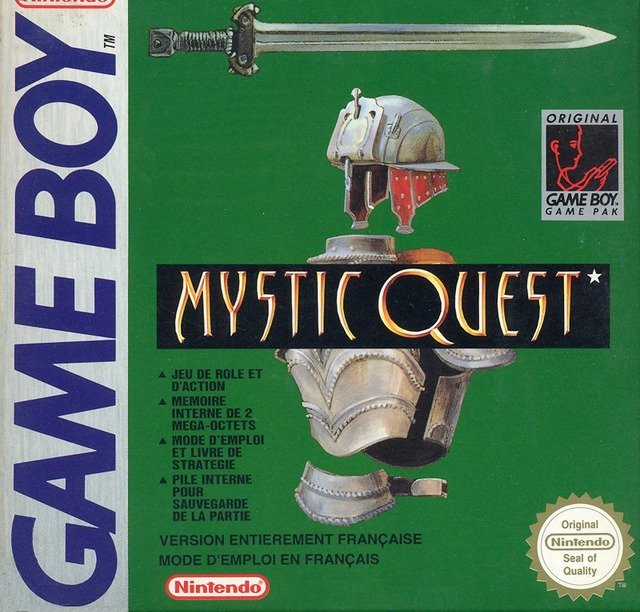 Caratula de Mystic Quest para Game Boy