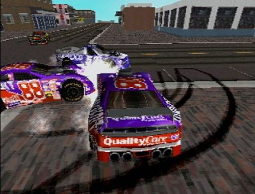Pantallazo de NASCAR Rumble para PlayStation