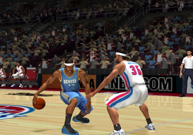 Pantallazo de NBA 08 para PlayStation 2