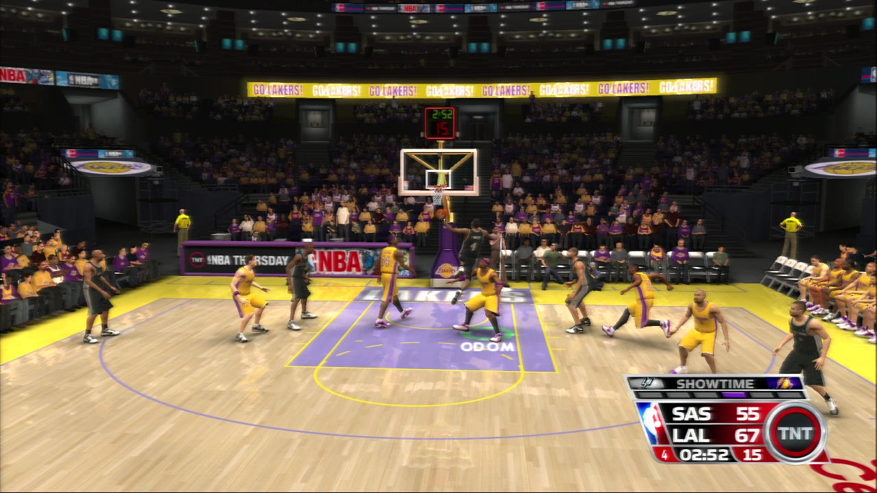 Pantallazo de NBA 08 para PlayStation 3