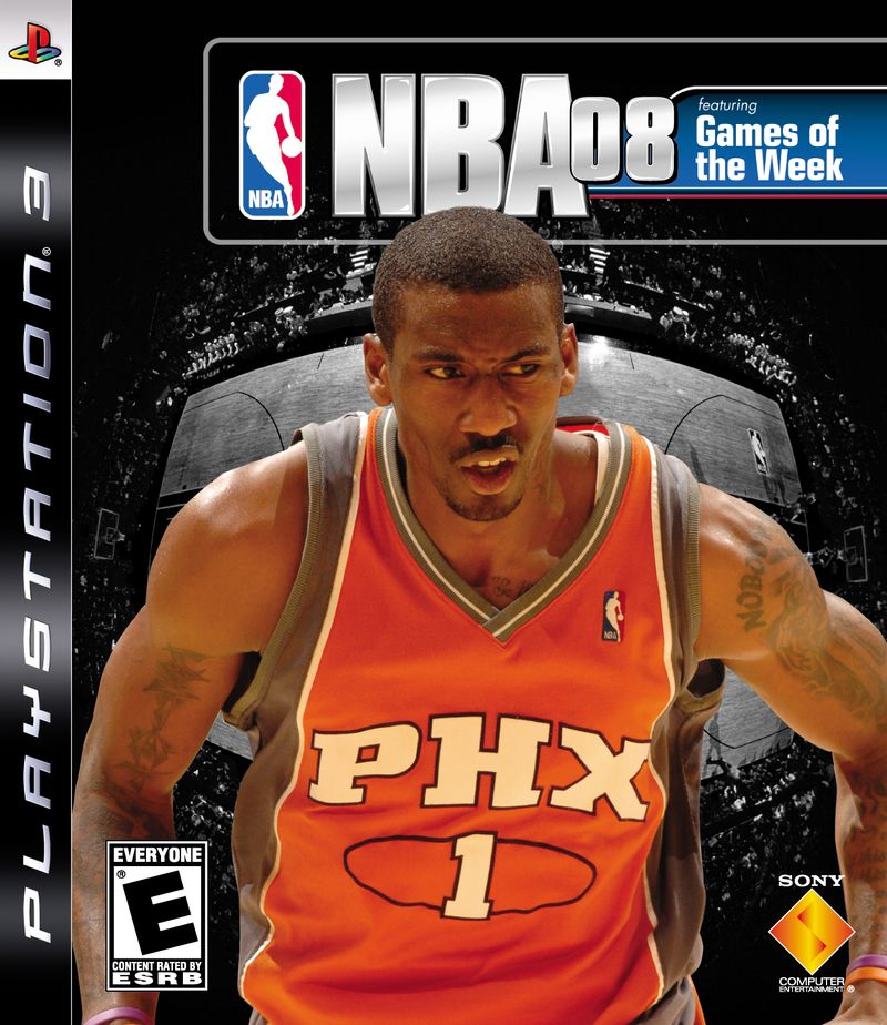 Caratula de NBA 08 para PlayStation 3