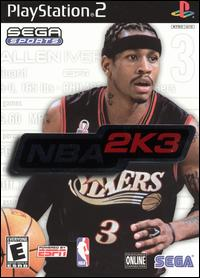 Caratula de NBA 2K3 para PlayStation 2