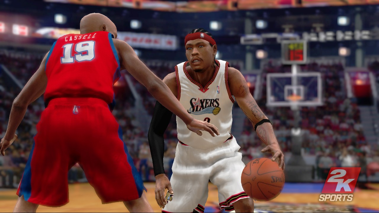 Pantallazo de NBA 2K7 para PlayStation 3