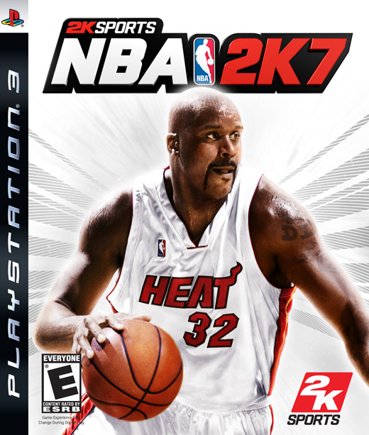 Caratula de NBA 2K7 para PlayStation 3