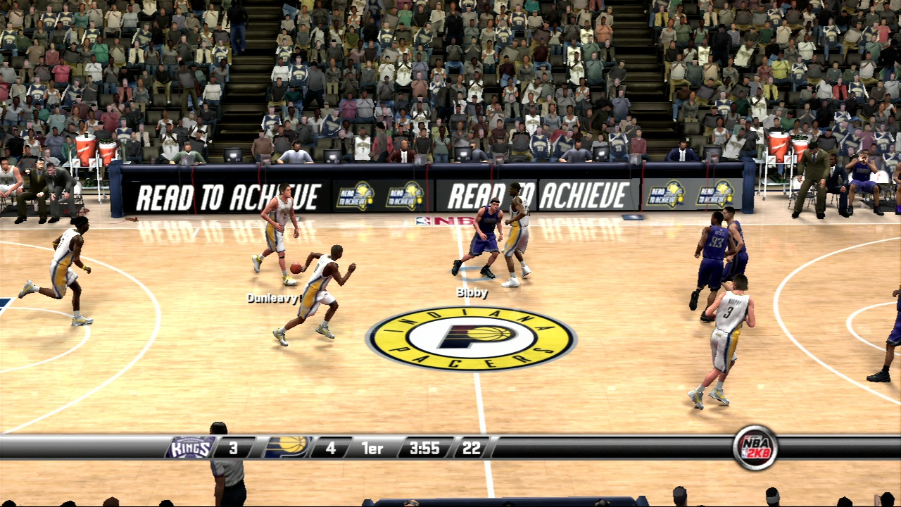 Pantallazo de NBA 2K8 para PlayStation 3