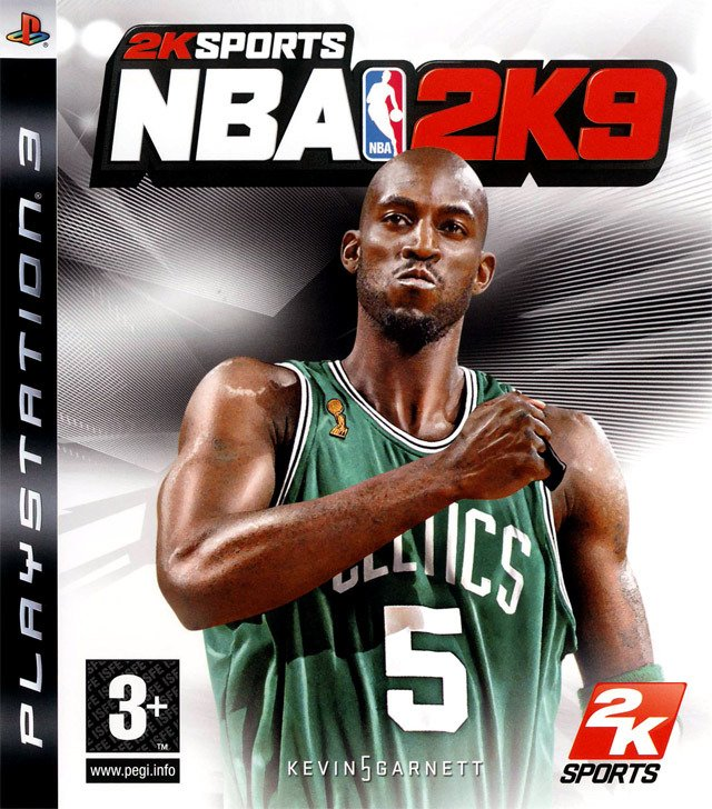 Caratula de NBA 2K9 para PlayStation 3