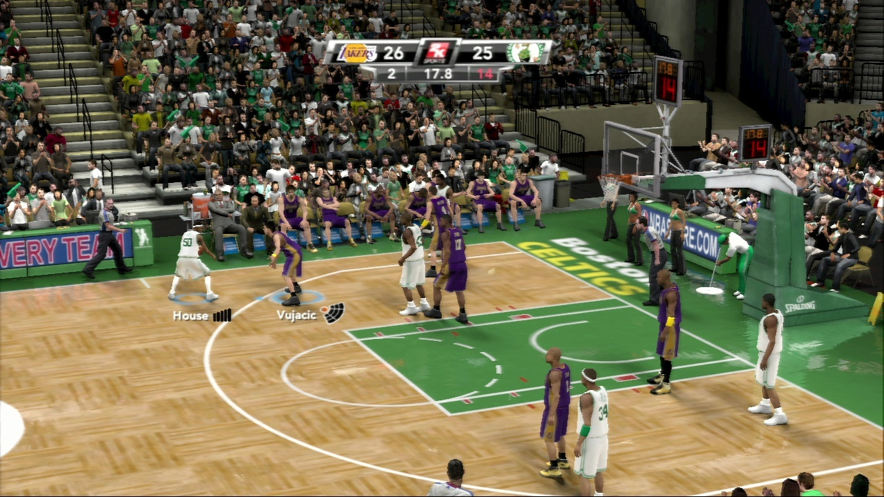 Pantallazo de NBA 2K9 para PlayStation 3
