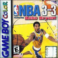 Caratula de NBA 3 on 3 featuring Kobe Bryant para Game Boy Color