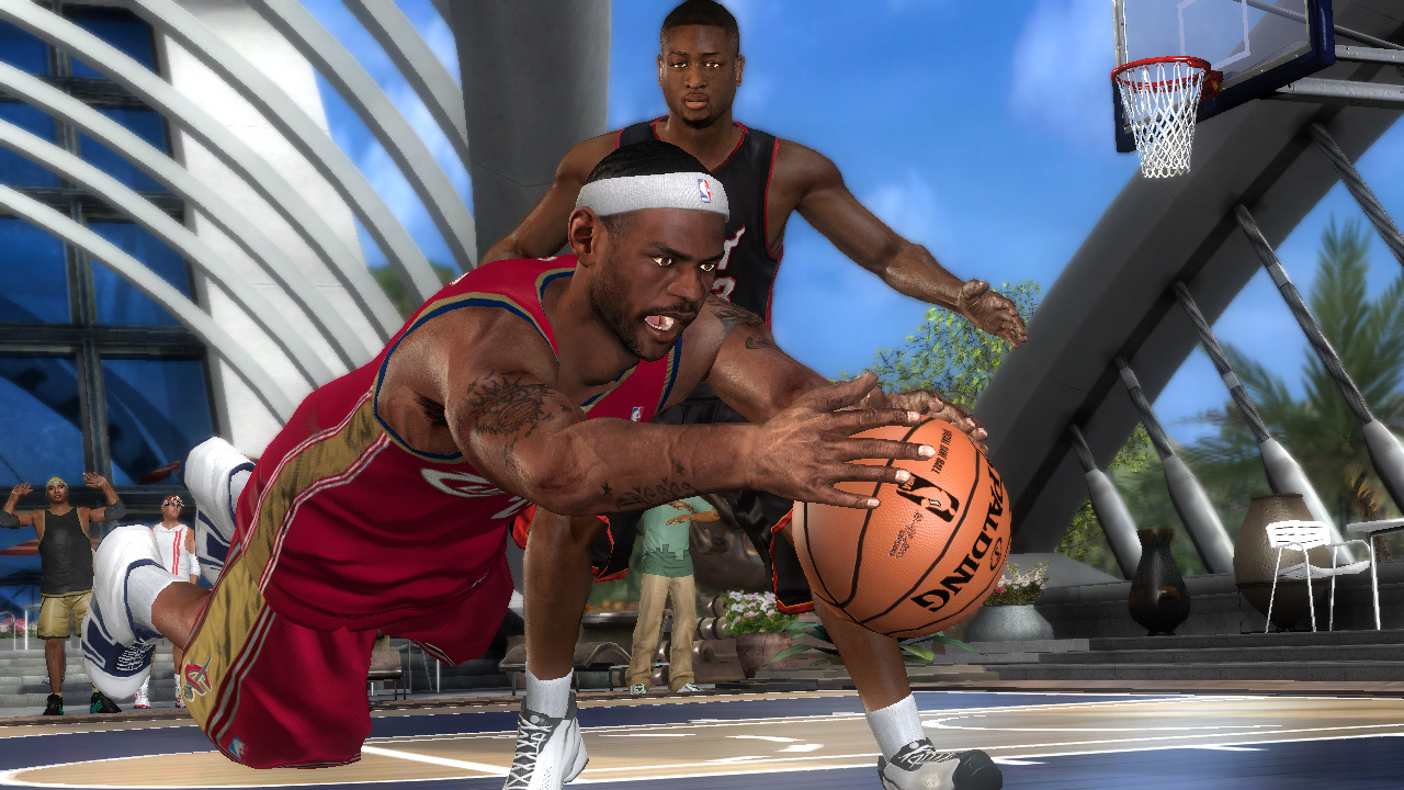 Pantallazo de NBA Ballers: Chosen One para PlayStation 3