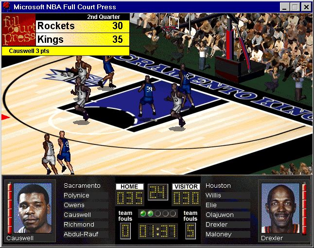 Pantallazo de NBA Full Court Press para PC