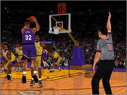 Pantallazo de NBA Inside Drive 2000 para PC