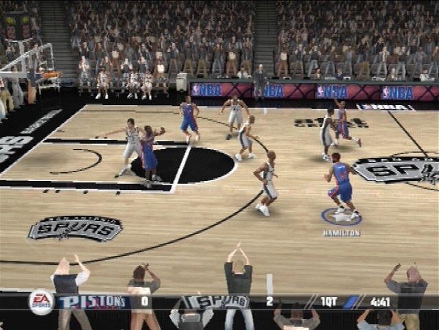 Pantallazo de NBA Live 08 para PlayStation 2