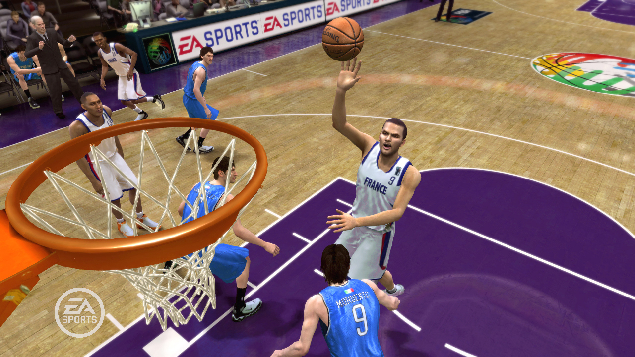 Pantallazo de NBA Live 08 para PlayStation 3