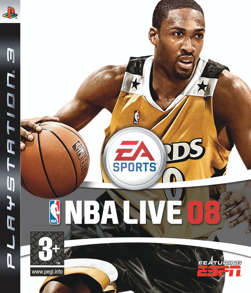 Caratula de NBA Live 08 para PlayStation 3