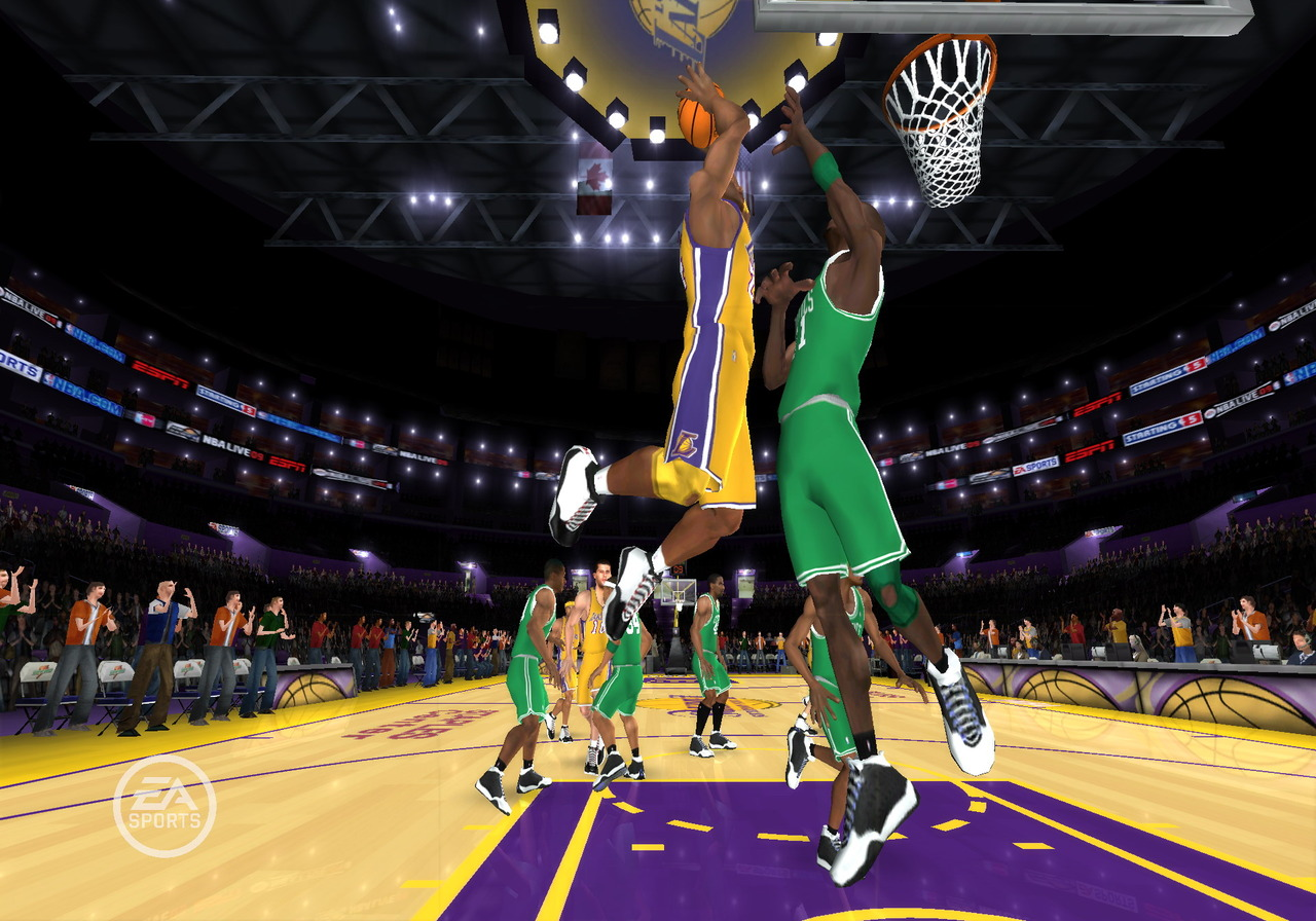 Pantallazo de NBA Live 09 All-Play para Wii