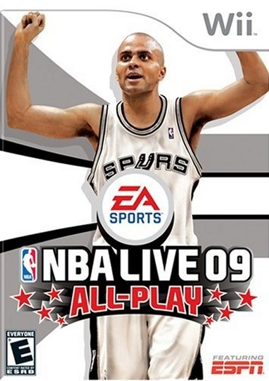 Caratula de NBA Live 09 All-Play para Wii