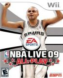 Caratula nº 127019 de NBA Live 09 All-Play (380 x 537)