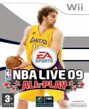Caratula nº 129101 de NBA Live 09 All-Play (500 x 704)
