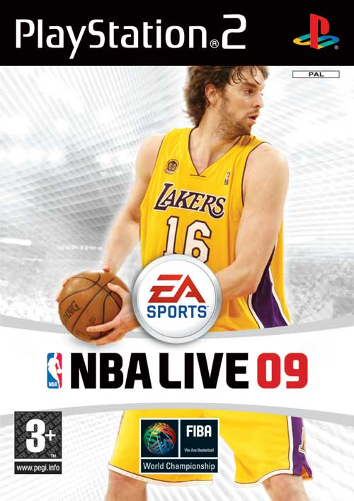 Caratula de NBA Live 09 para PlayStation 2