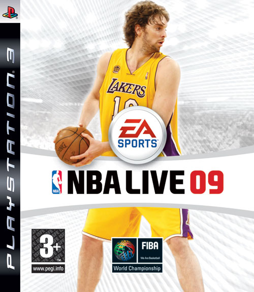 Caratula de NBA Live 09 para PlayStation 3