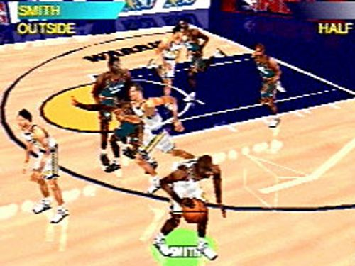 Pantallazo de NBA ShootOut '97 para PlayStation