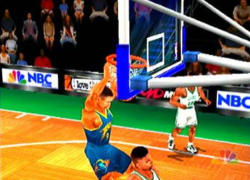 Pantallazo de NBA Showtime: NBA on NBC para Dreamcast