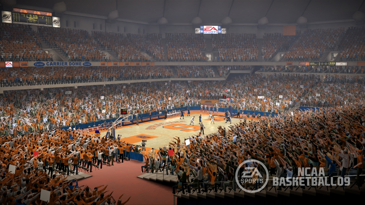 Pantallazo de NCAA Basketball 09 para PlayStation 3