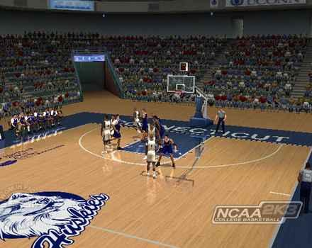 Pantallazo de NCAA College Basketball 2K3 para PlayStation 2
