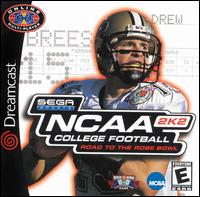 Caratula de NCAA College Football 2K2: Road to the Rose Bowl para Dreamcast