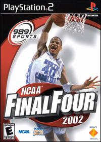 Caratula de NCAA Final Four 2002 para PlayStation 2