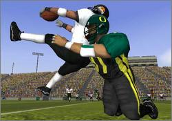 Pantallazo de NCAA Football 2003 para GameCube