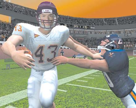 Pantallazo de NCAA Football 2004 para GameCube