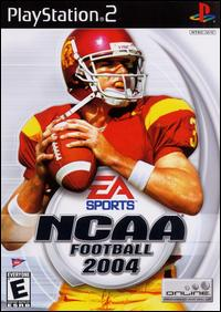 Caratula de NCAA Football 2004 para PlayStation 2