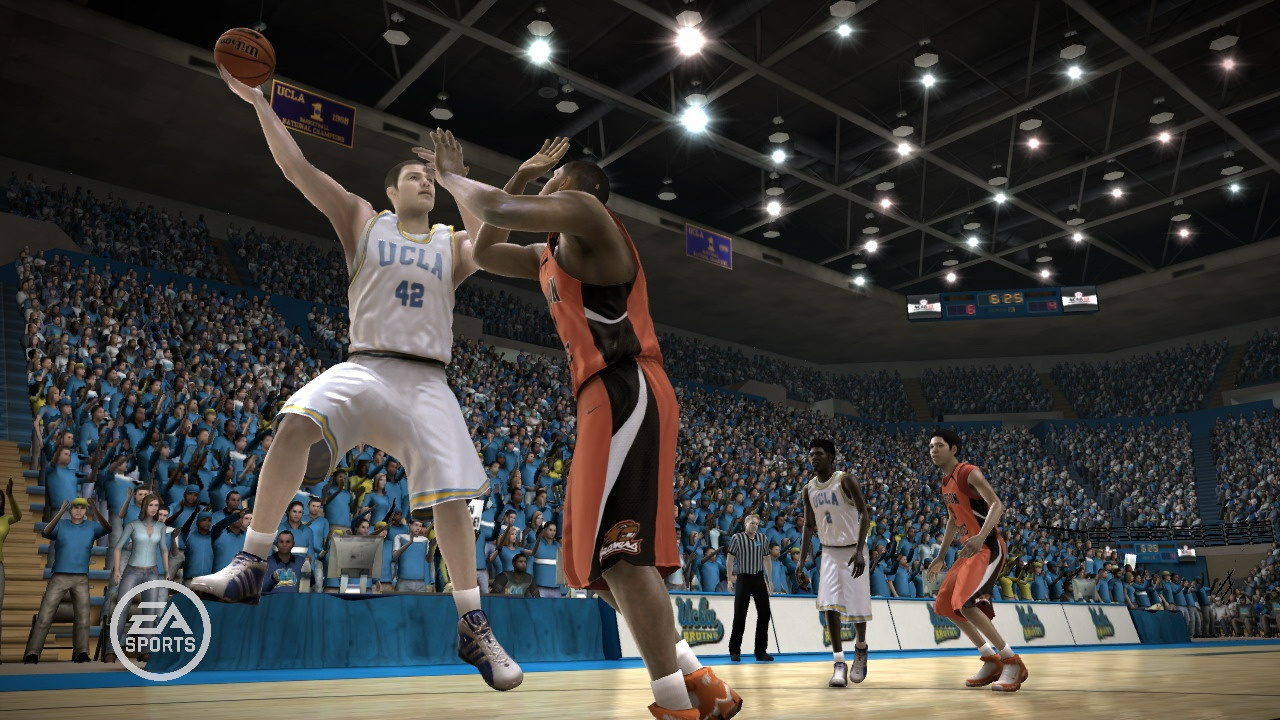 Pantallazo de NCAA March Madness 08 para PlayStation 3
