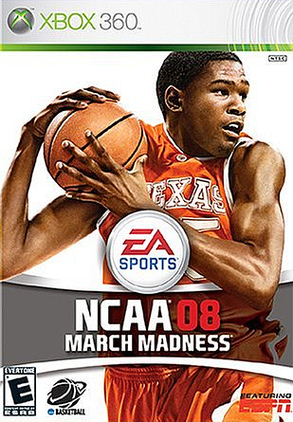 Caratula de NCAA March Madness 08 para Xbox 360
