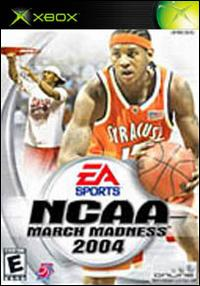 Caratula de NCAA March Madness 2004 para Xbox