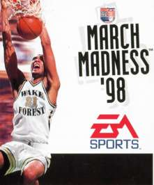 Caratula de NCAA March Madness 98 para PC